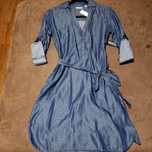 New York & Co Woman Jean Dress Sz XS